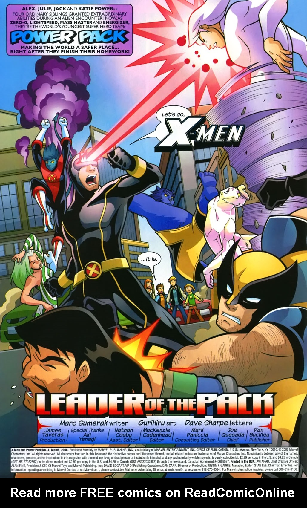 Read online X-Men and Power Pack comic -  Issue #4 - 3