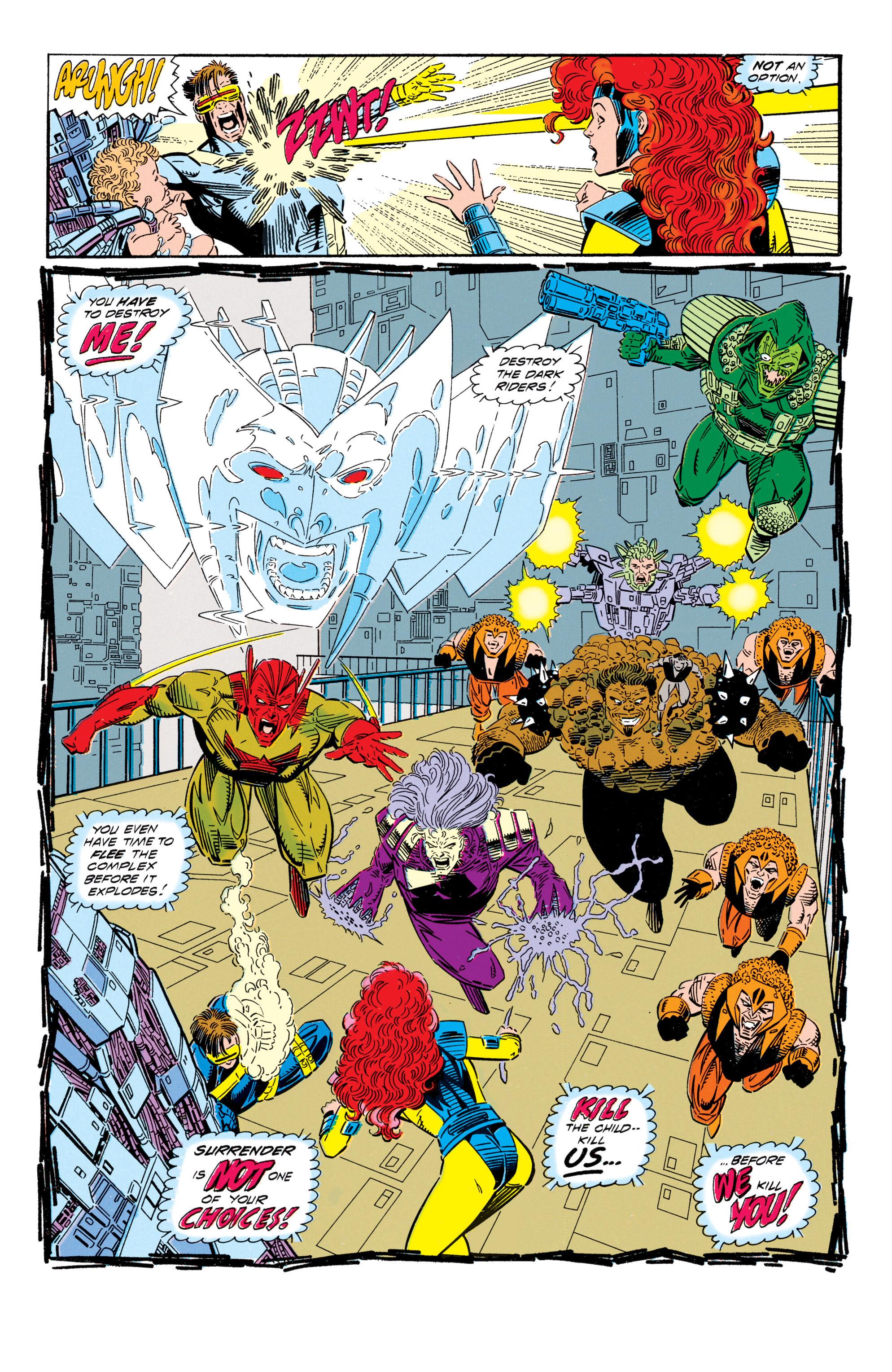 Read online Uncanny X-Men (1963) comic -  Issue #296 - 19