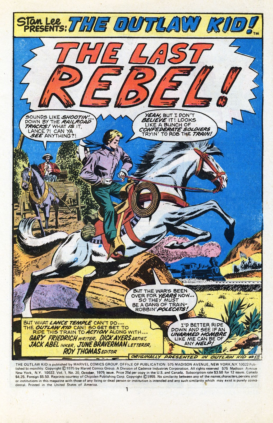 The Outlaw Kid (1970) issue 30 - Page 3
