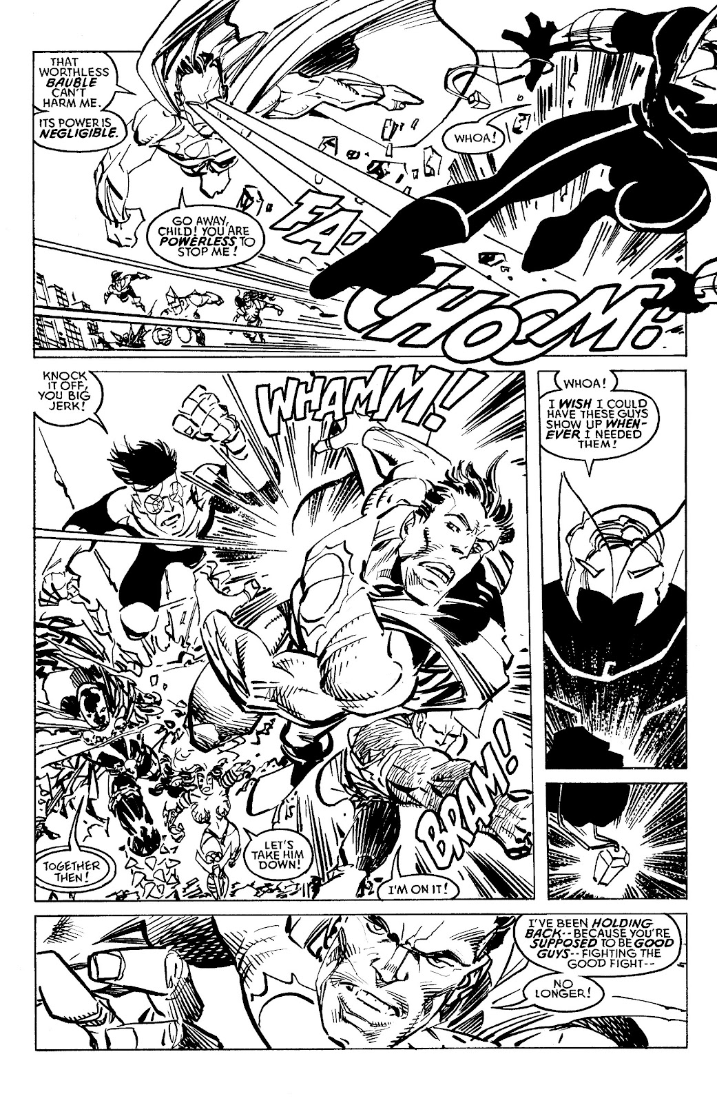 Read online Savage Dragon Archives comic -  Issue # TPB 6 (Part 4) - 4