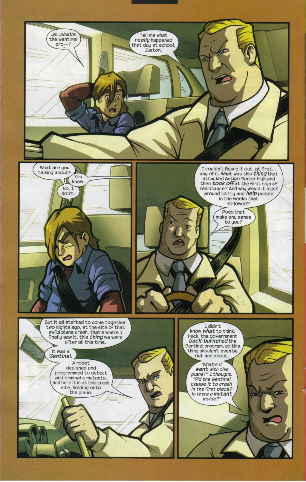 Read online Sentinel comic -  Issue #11 - 13