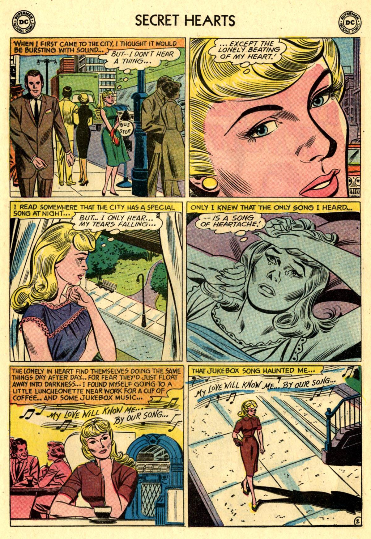 Read online Secret Hearts comic -  Issue #83 - 28