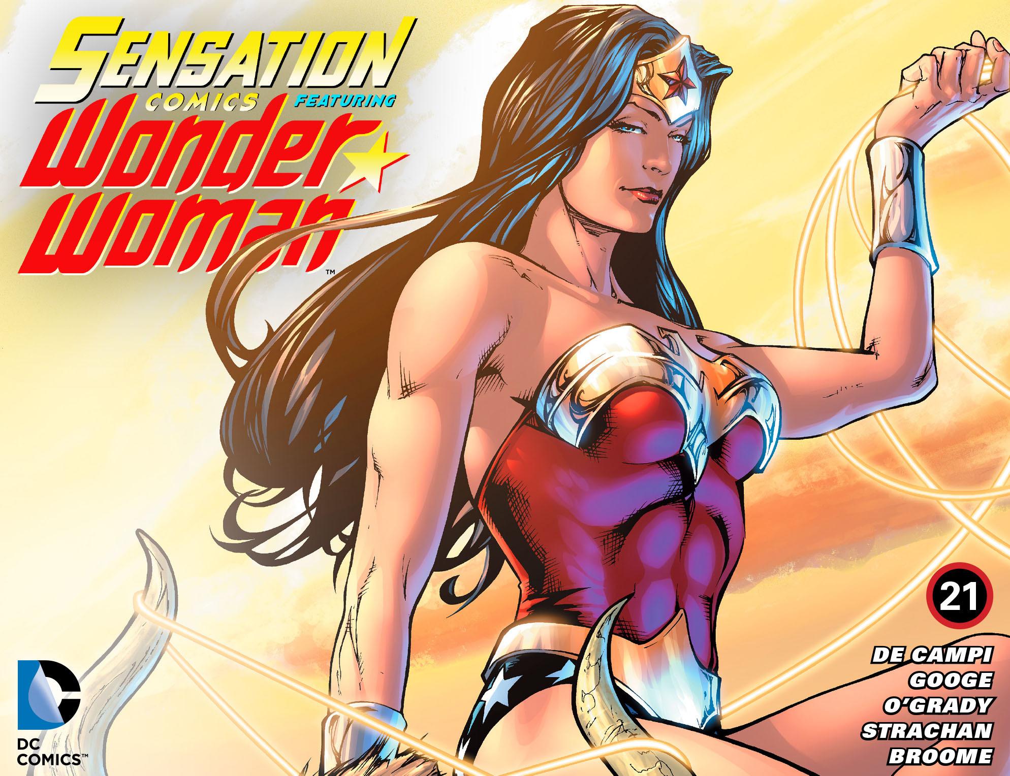 Read online Sensation Comics Featuring Wonder Woman comic -  Issue #21 - 1