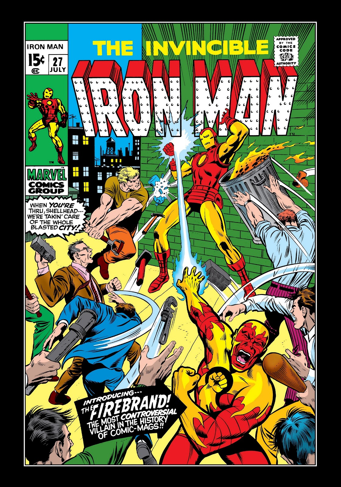 Read online Marvel Masterworks: The Invincible Iron Man comic -  Issue # TPB 7 (Part 1) - 29