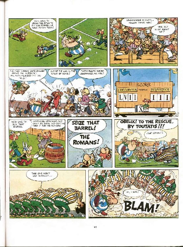 Read online Asterix comic -  Issue #8 - 38
