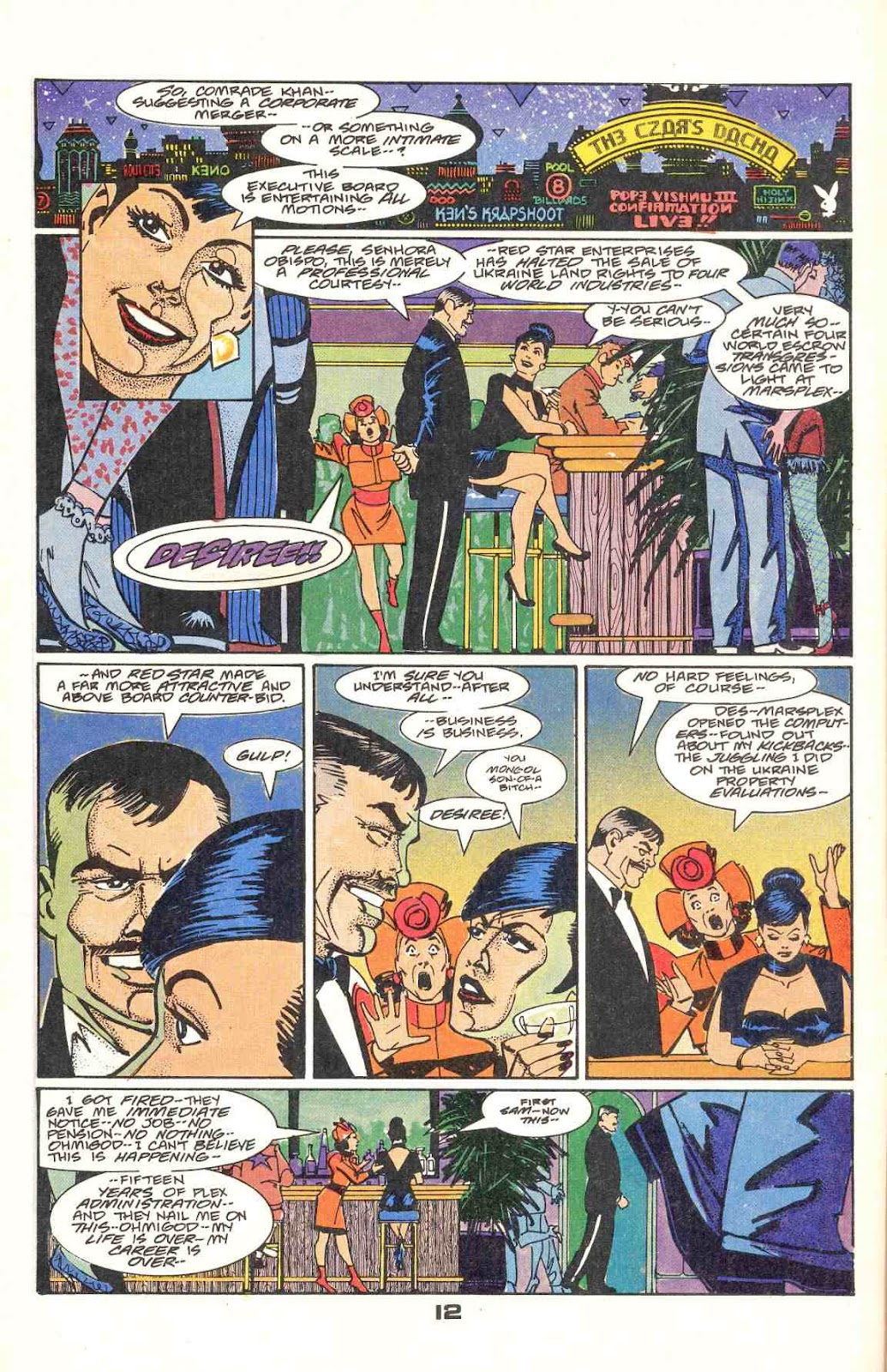Howard Chaykin's American Flagg issue 12 - Page 16