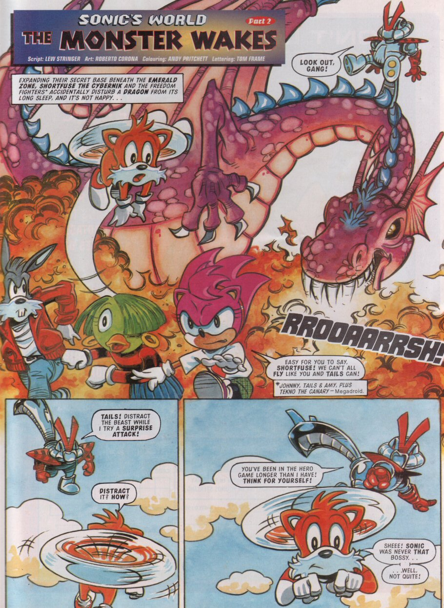 Read online Sonic the Comic comic -  Issue #95 - 22