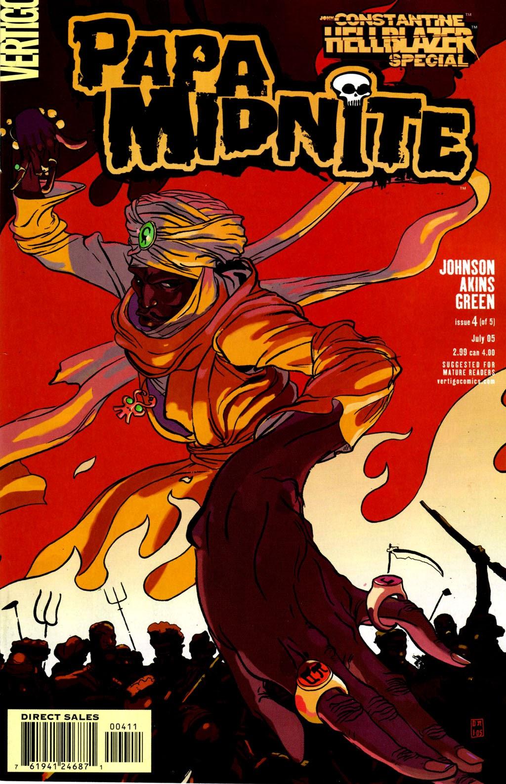 John Constantine - Hellblazer Special: Papa Midnite issue 4 - Page 1