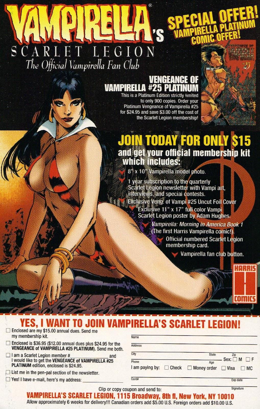 Vampirella vs Hemorrhage issue 1 - Page 30