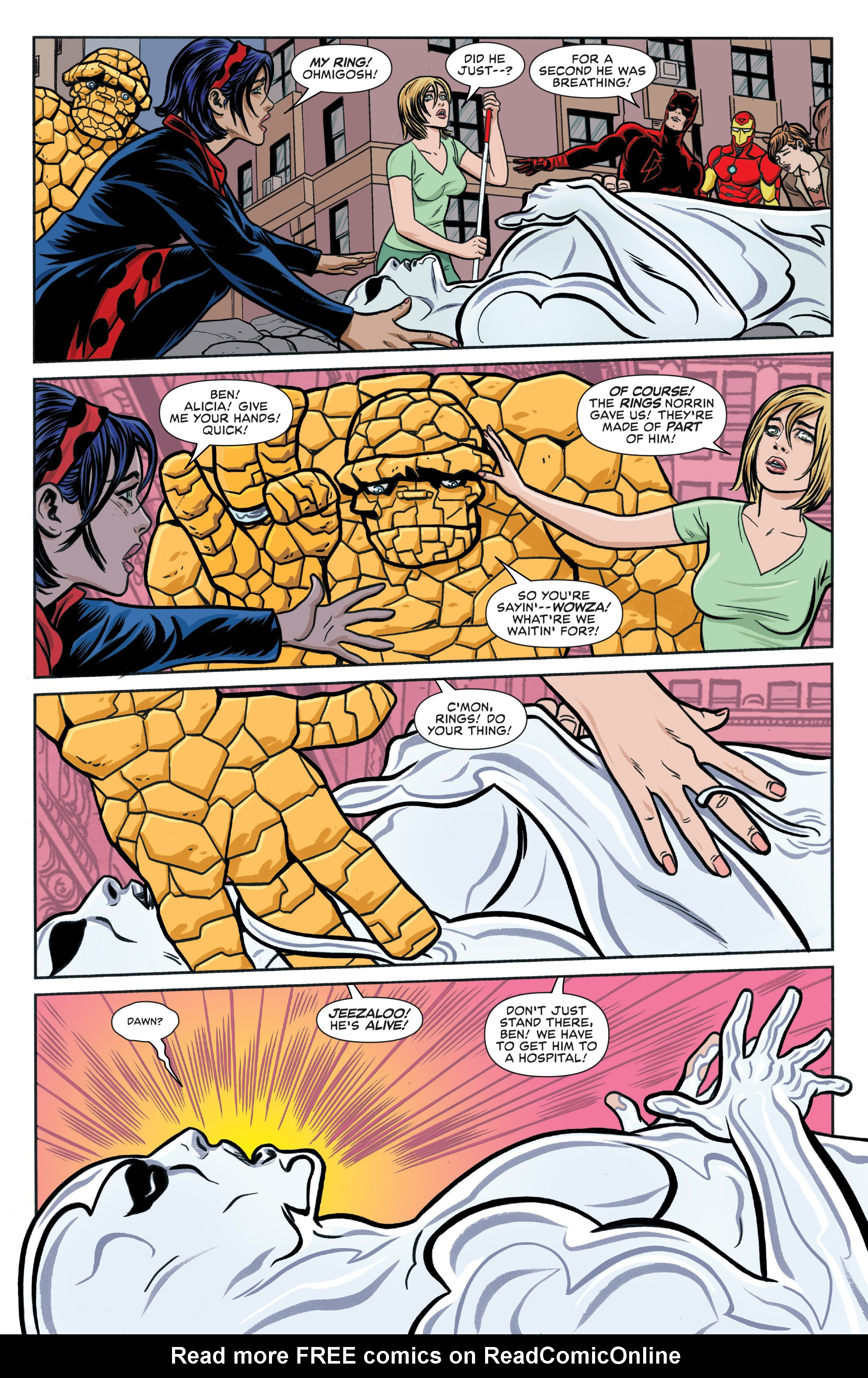 Read online Silver Surfer (2016) comic -  Issue #4 - 5