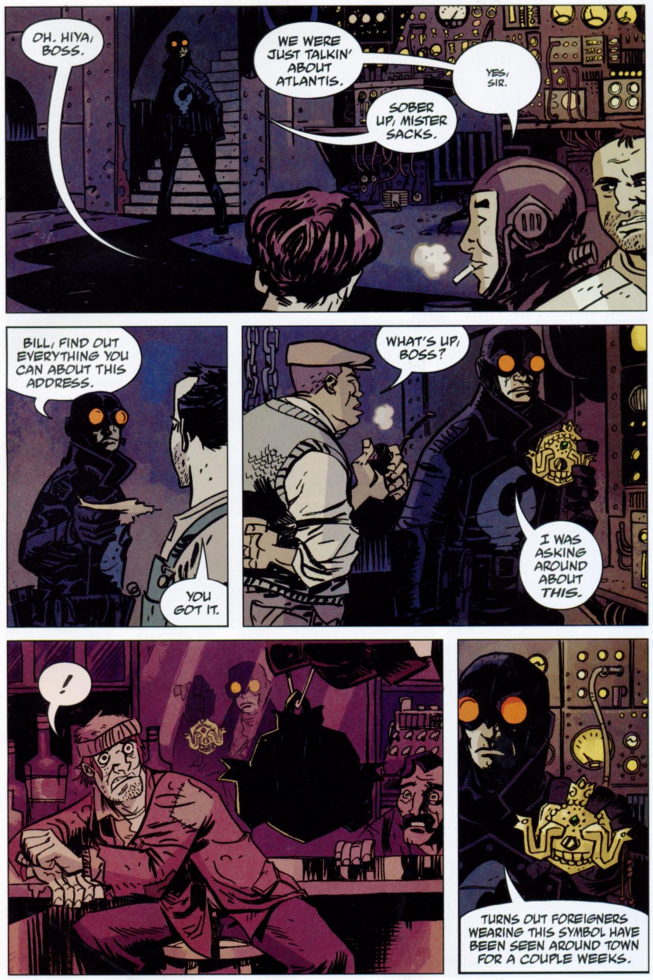 Read online Lobster Johnson: The Iron Prometheus comic -  Issue #1 - 23