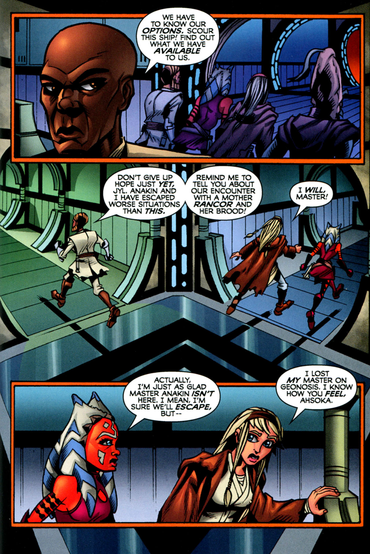 Read online Star Wars: The Clone Wars - The Starcrusher Trap comic -  Issue # Full - 46