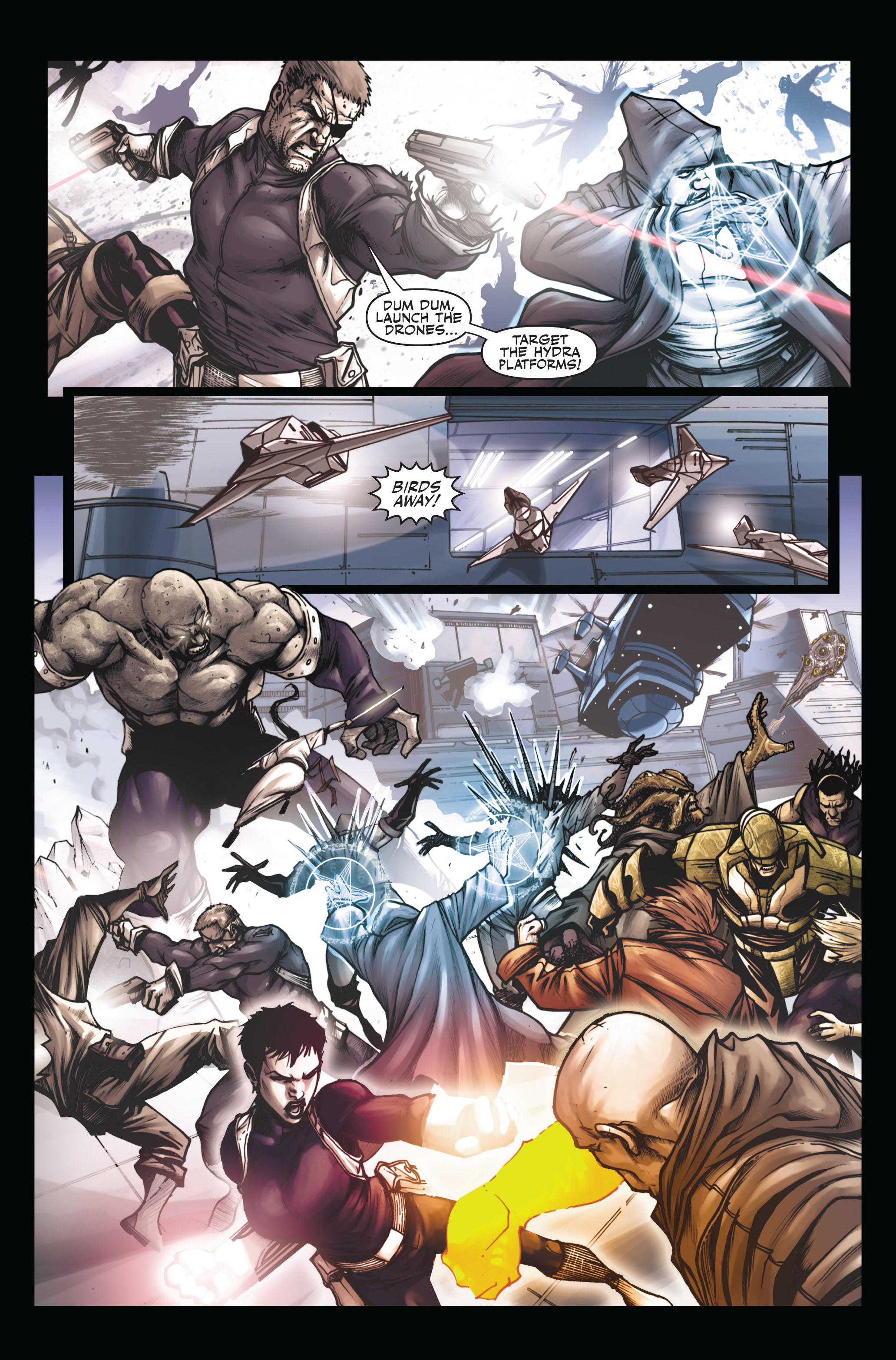 Read online Secret Warriors comic -  Issue #6 - 12