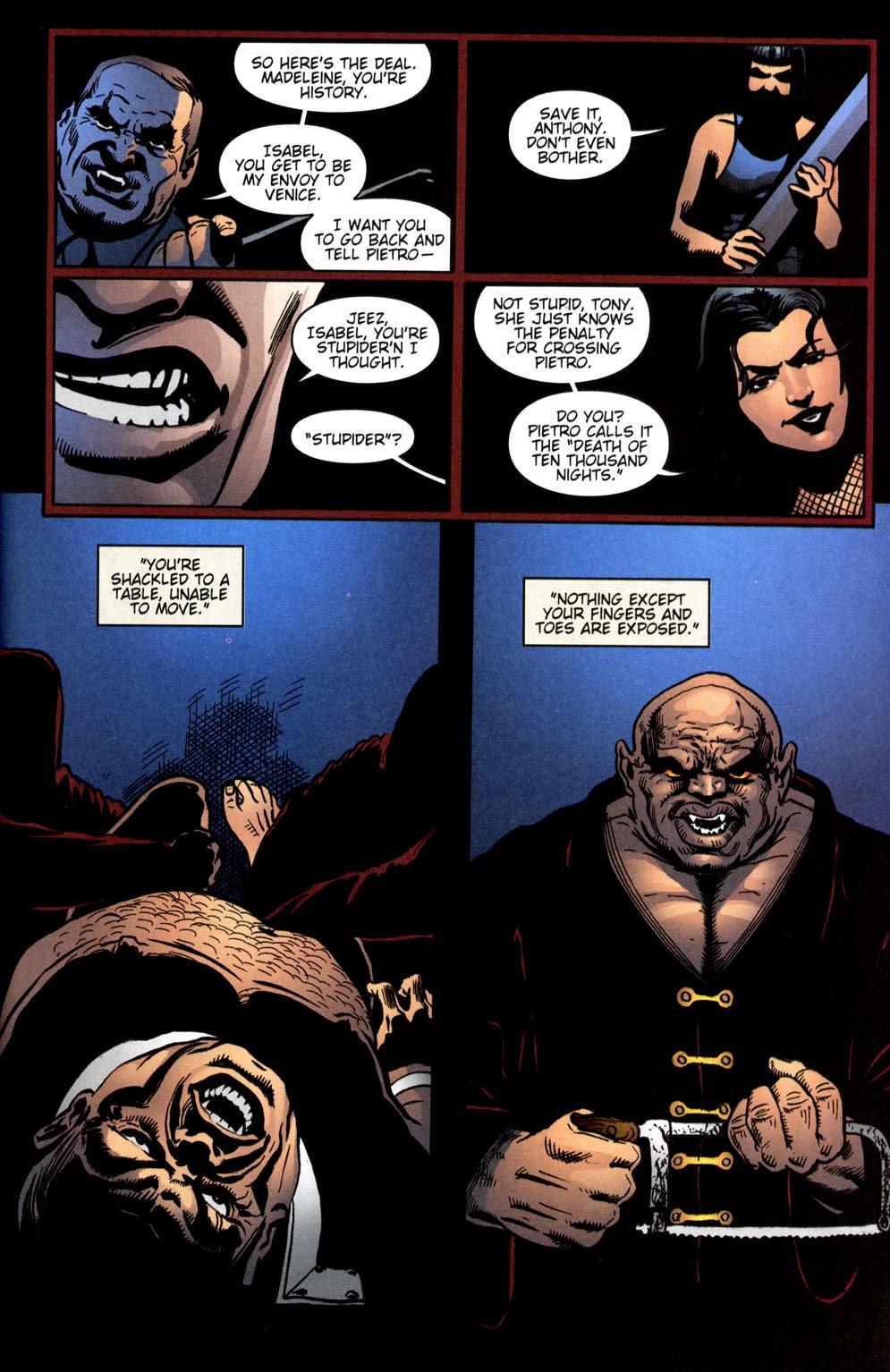 Read online Vampire the Masquerade comic -  Issue # Giovanni - 42