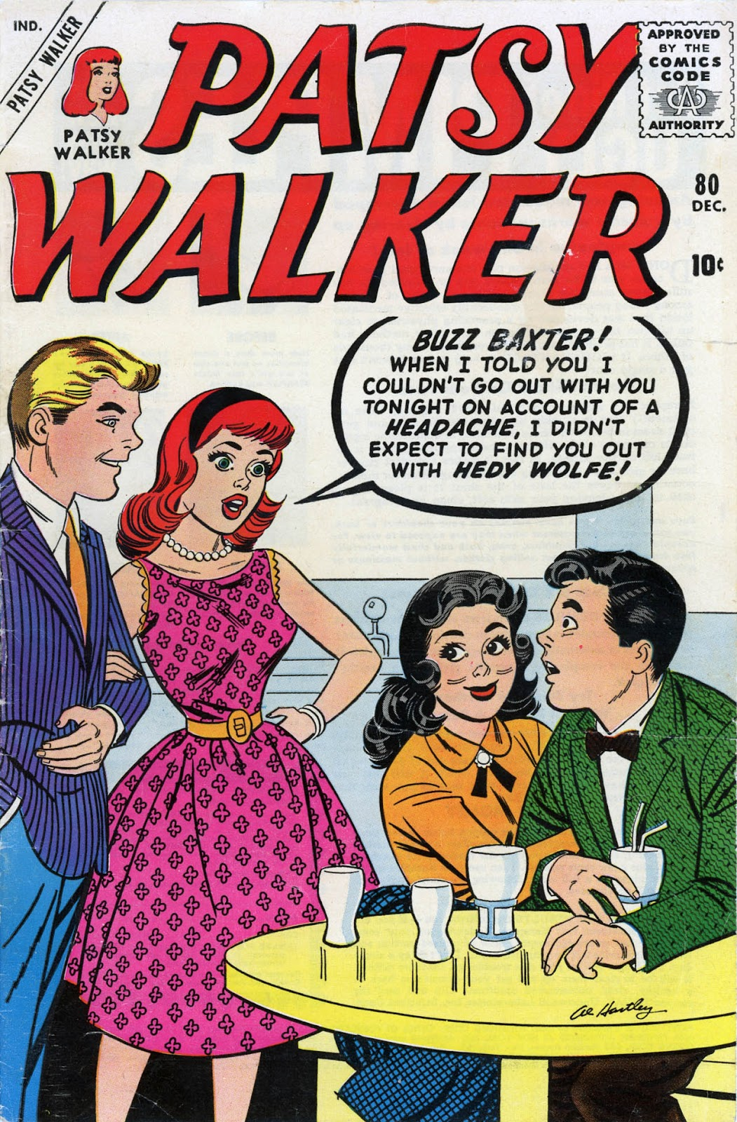 Patsy Walker 80 Page 1