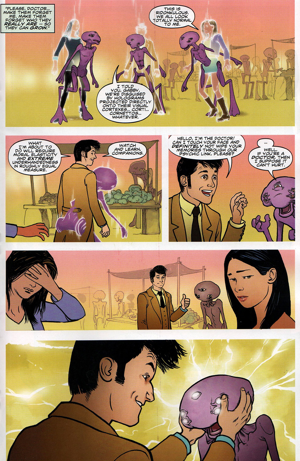 Read online Free Comic Book Day 2017 comic -  Issue # Doctor Who - 14