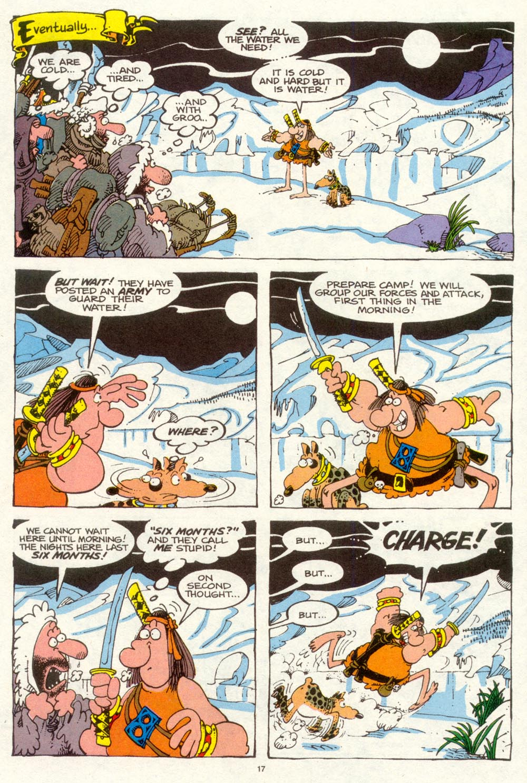 Read online Sergio Aragonés Groo the Wanderer comic -  Issue #94 - 18
