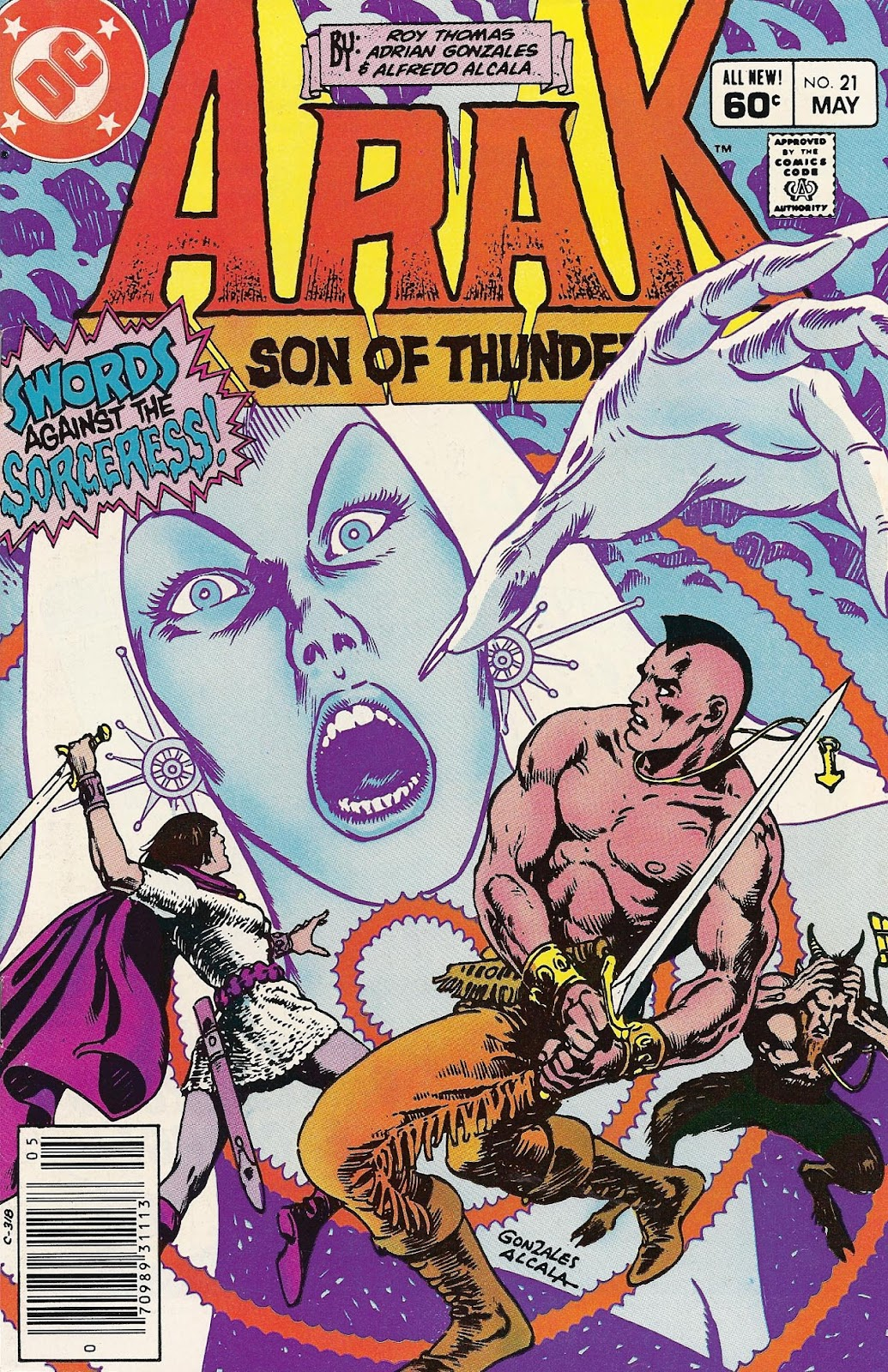 Arak Son of Thunder 21 Page 1
