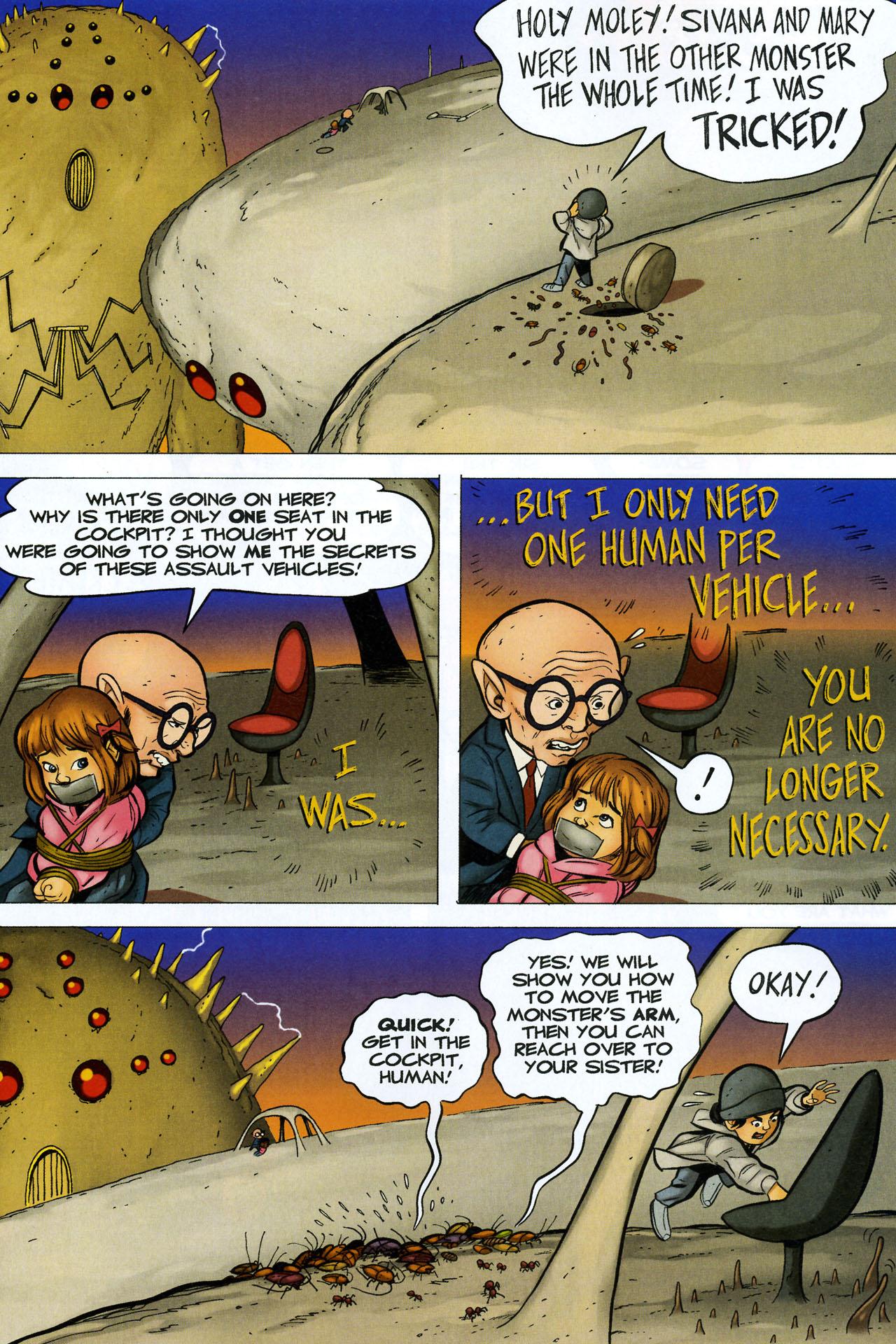 Read online Shazam!: The Monster Society of Evil comic -  Issue #4 - 27
