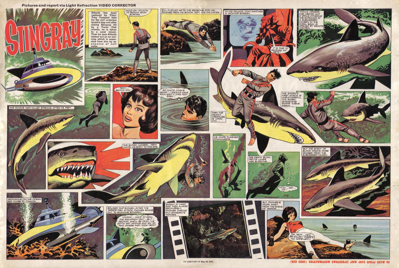 Read online TV Century 21 (TV 21) comic -  Issue #19 - 10
