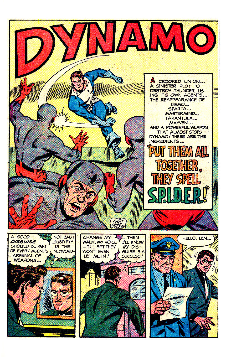 T.H.U.N.D.E.R. Agents (1965) issue 17 - Page 36