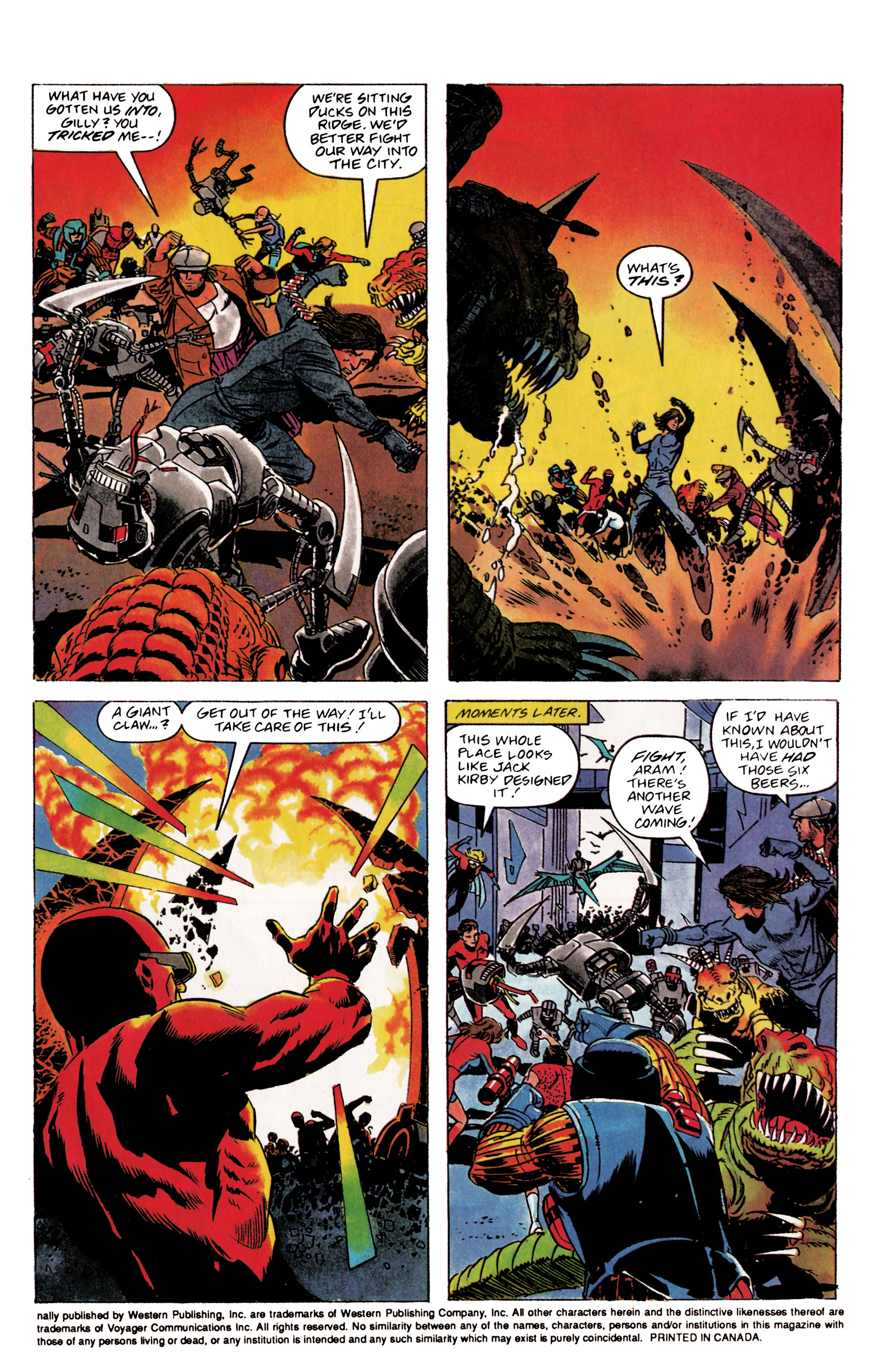 Read online Eternal Warrior (1992) comic -  Issue #2 - 4