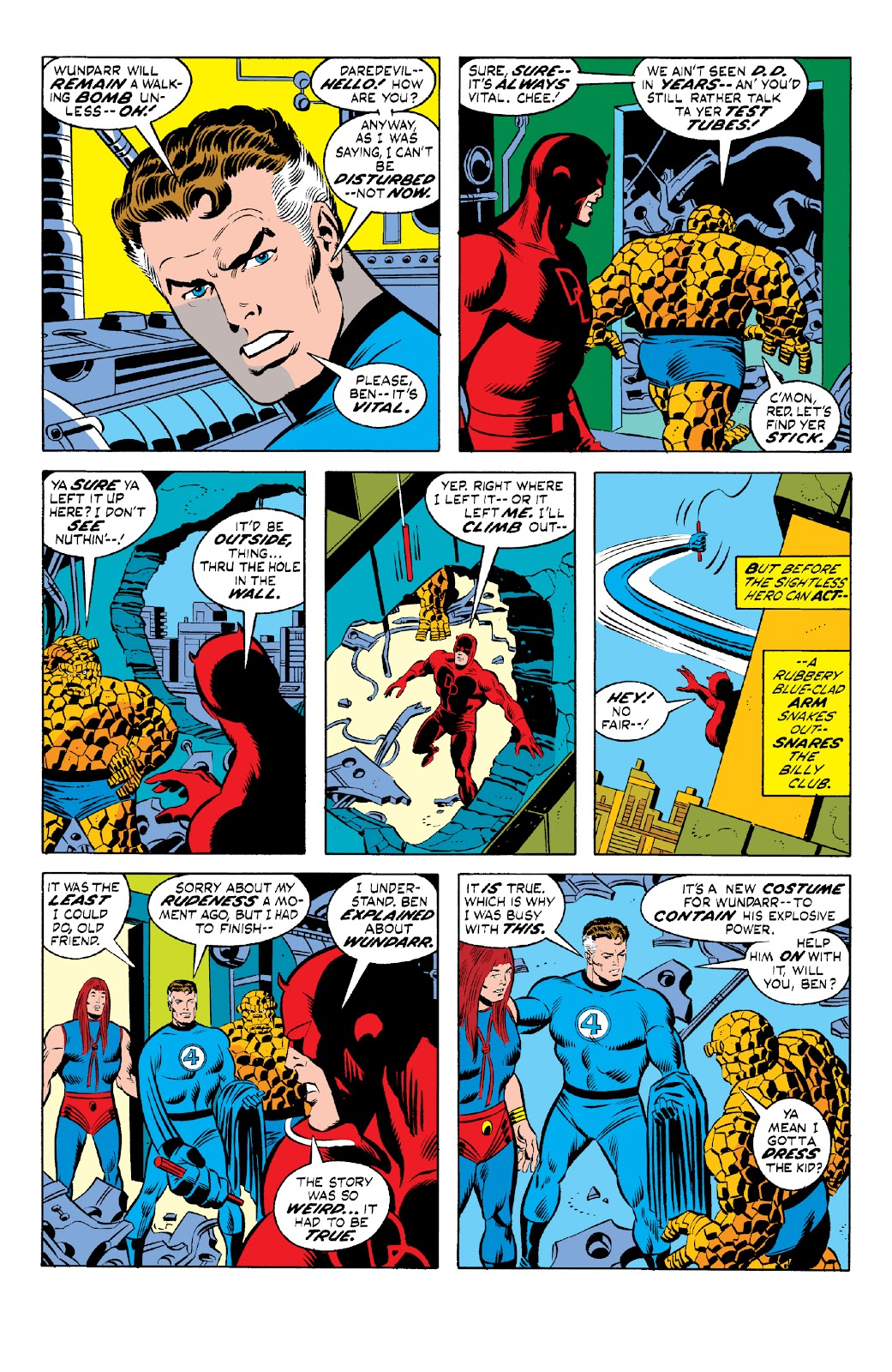 Read online Marvel Two-In-One Epic Collection: Cry Monster comic -  Issue # TPB (Part 1) - 92