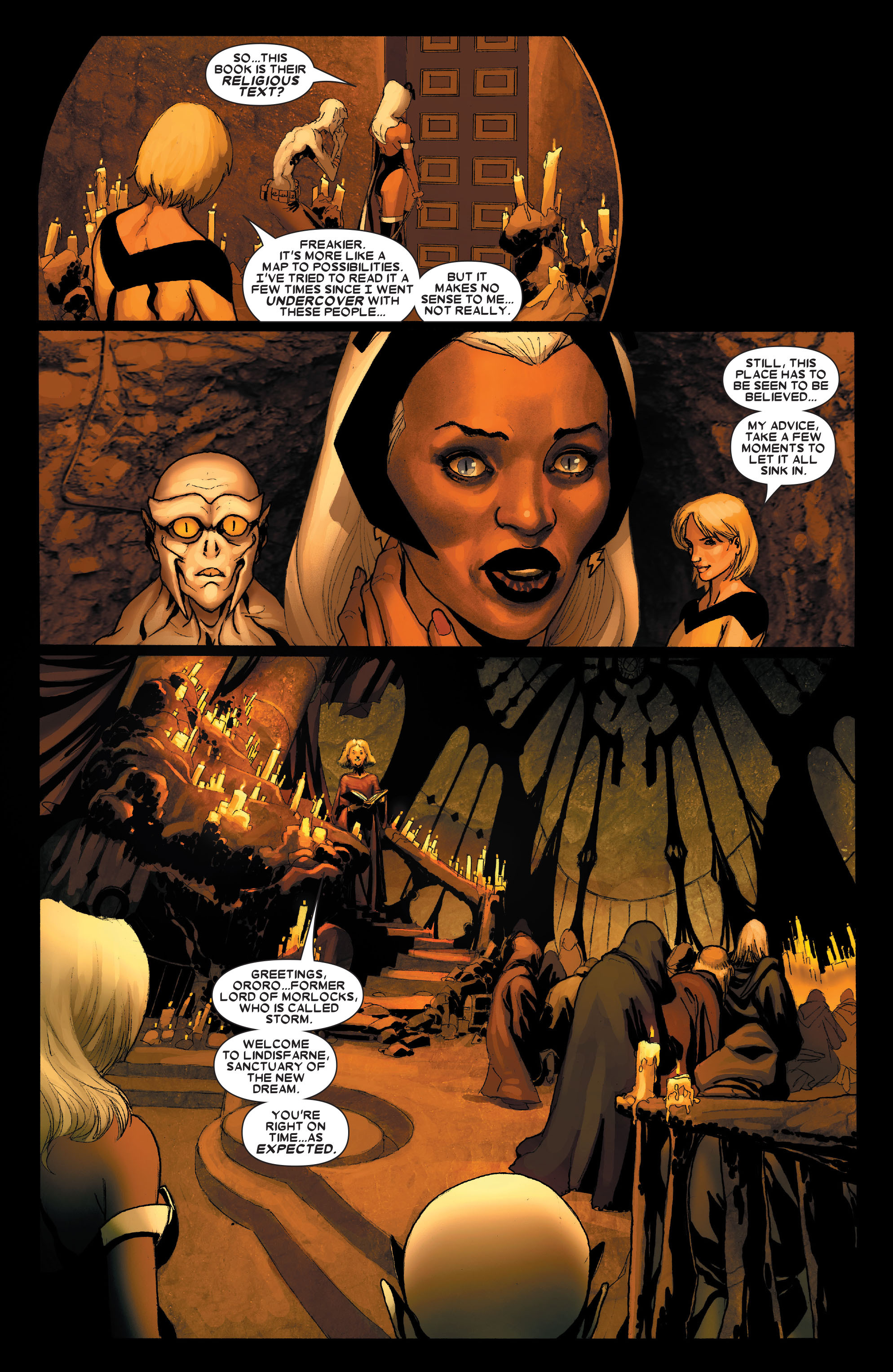Read online Uncanny X-Men (1963) comic -  Issue #490 - 10