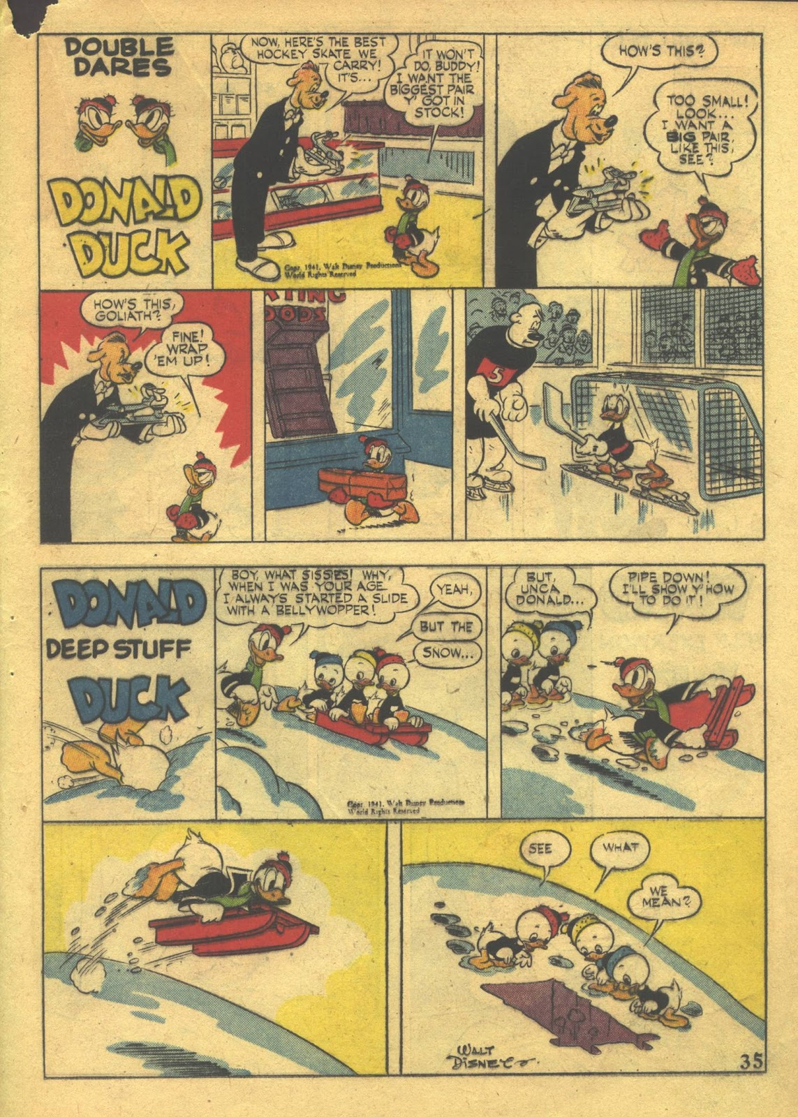 Walt Disney's Comics and Stories issue 39 - Page 37