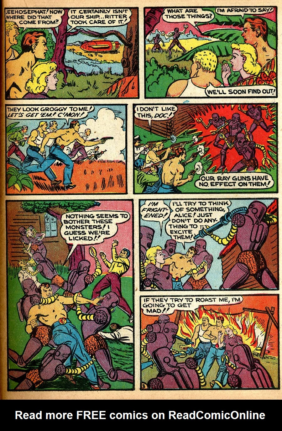 Blue Ribbon Comics (1939) issue 8 - Page 51