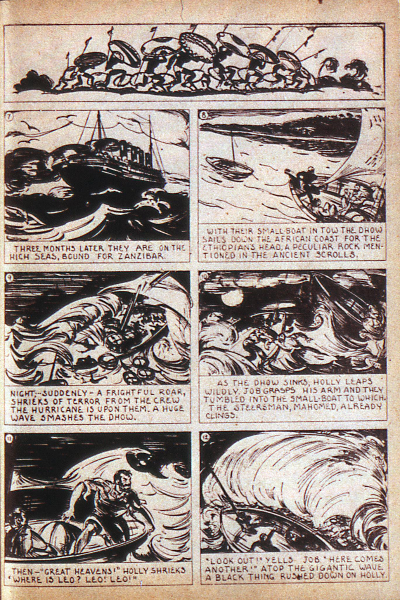 Read online Adventure Comics (1938) comic -  Issue #6 - 37