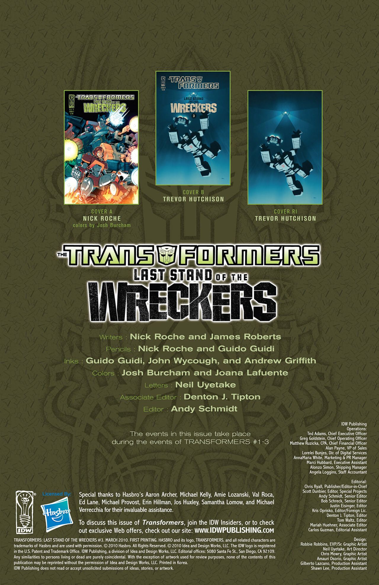 Read online Transformers: Last Stand of The Wreckers comic -  Issue #3 - 4