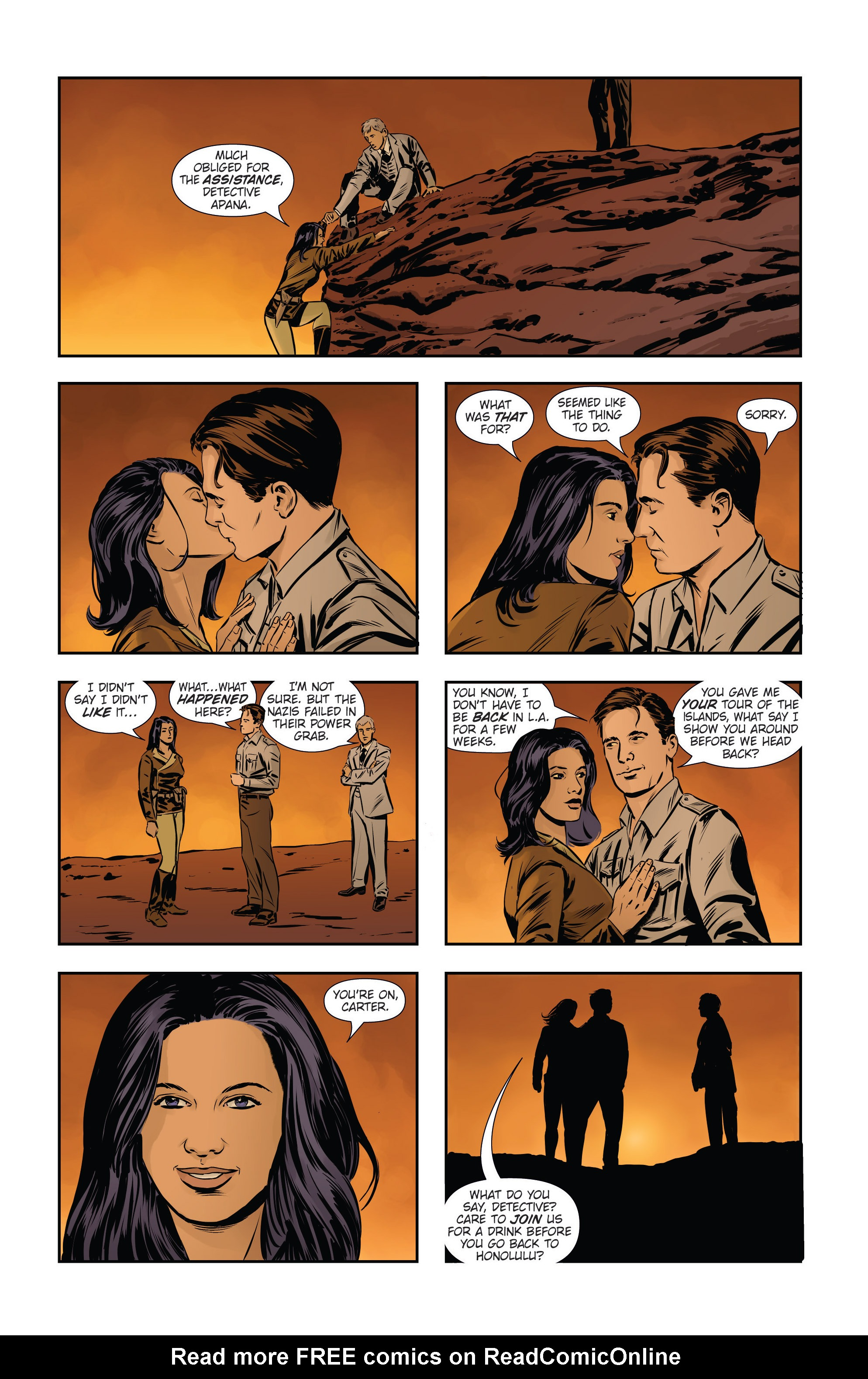 Read online Athena Voltaire and the Volcano Goddess comic -  Issue #3 - 25