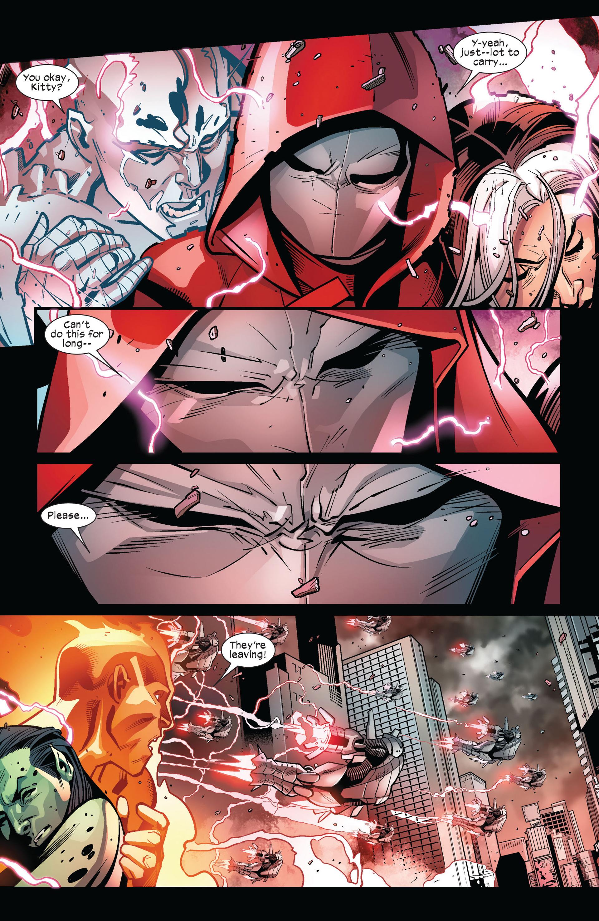 Read online Ultimate Comics X-Men comic -  Issue #6 - 13