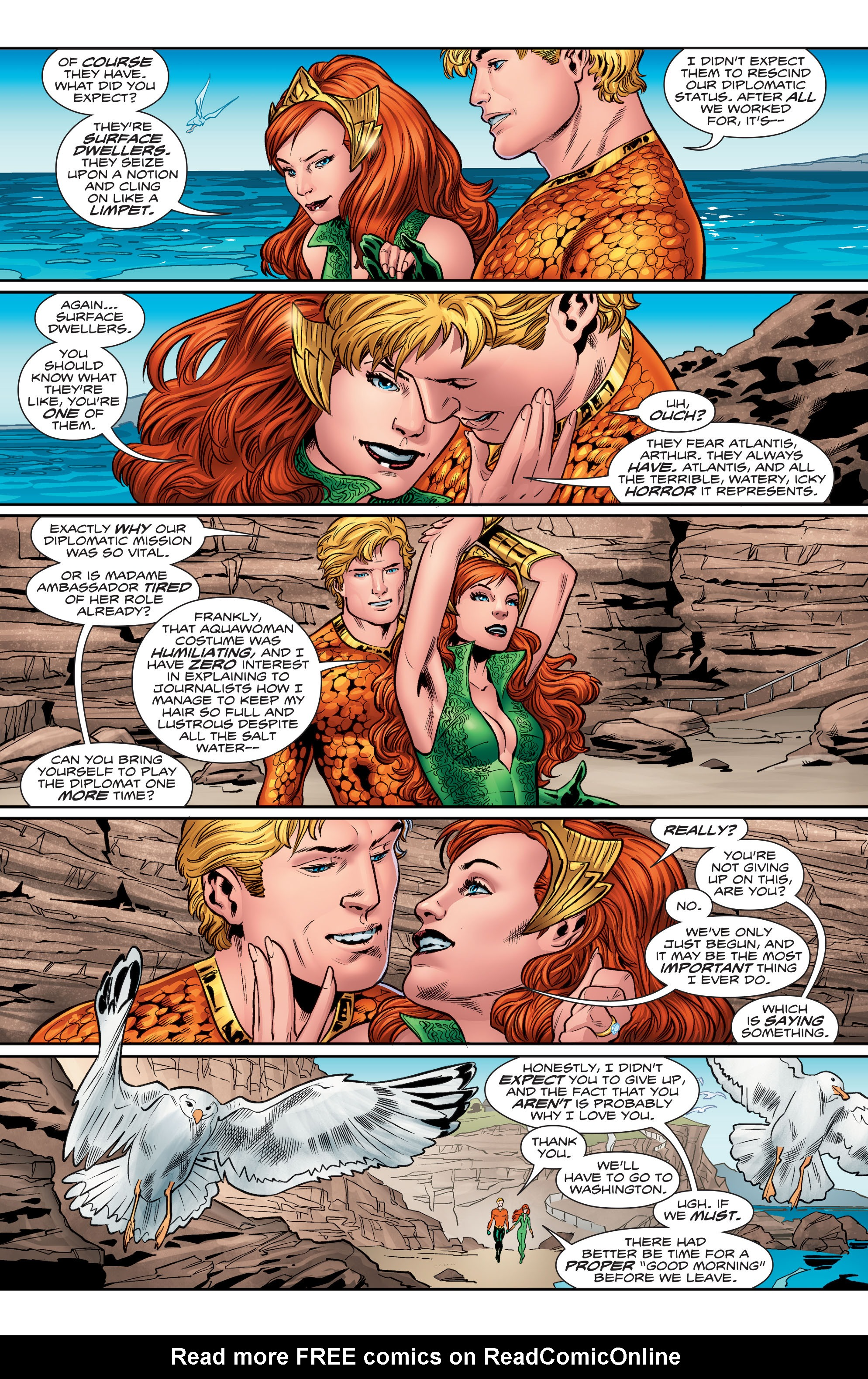 Read online Aquaman (2016) comic -  Issue #3 - 10