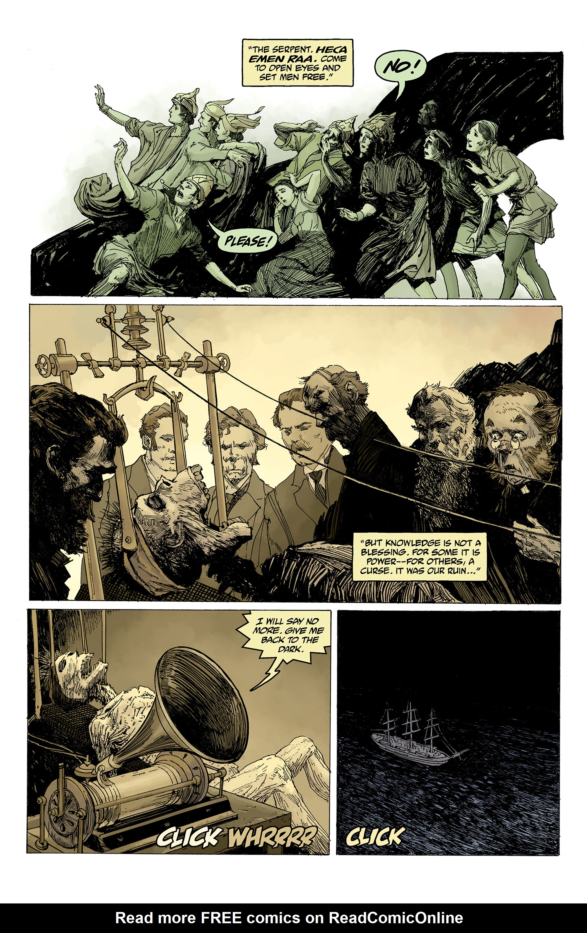 Read online Hellboy: Into the Silent Sea comic -  Issue # Full - 31