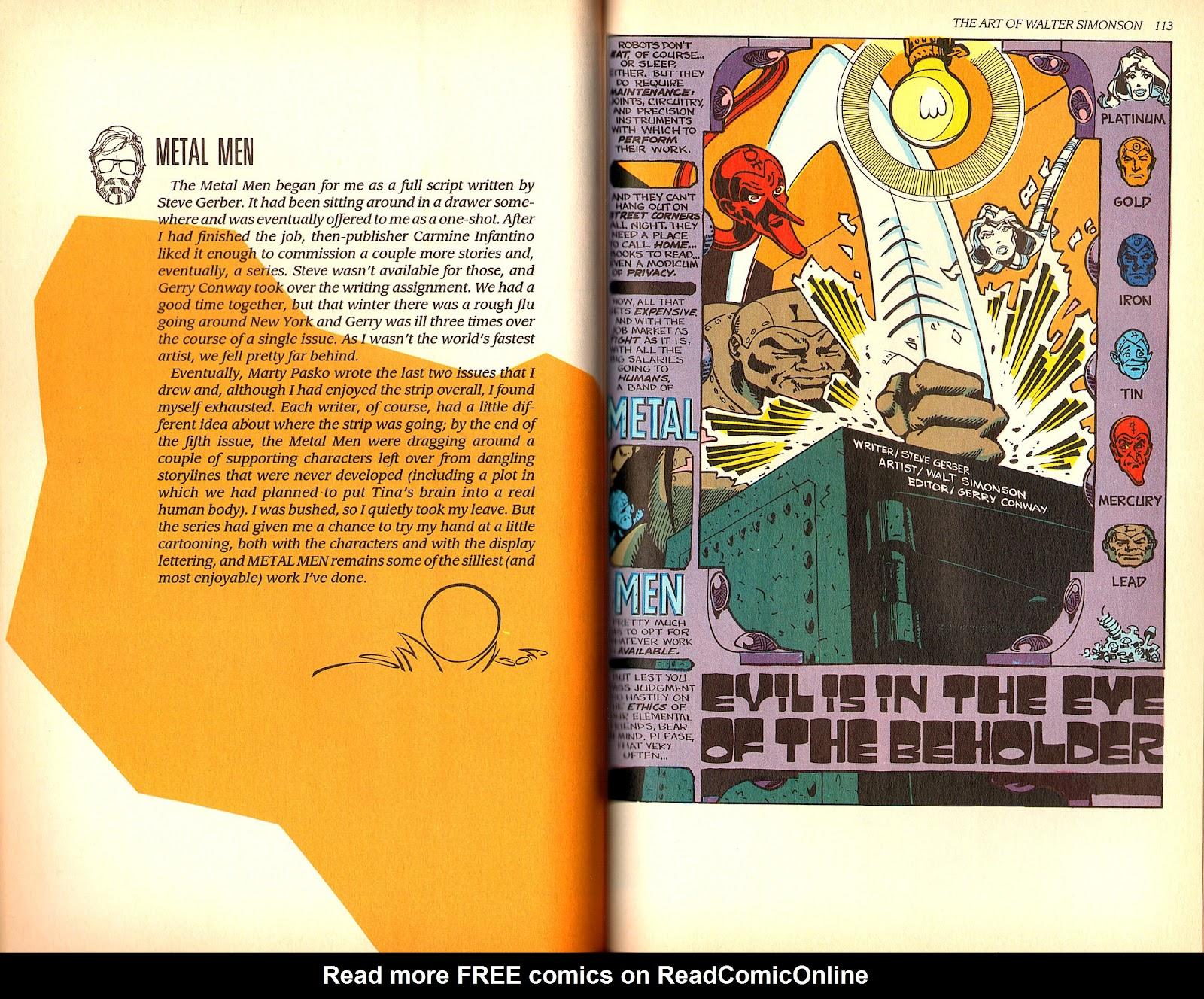 Read online The Art of Walter Simonson comic -  Issue # TPB - 58
