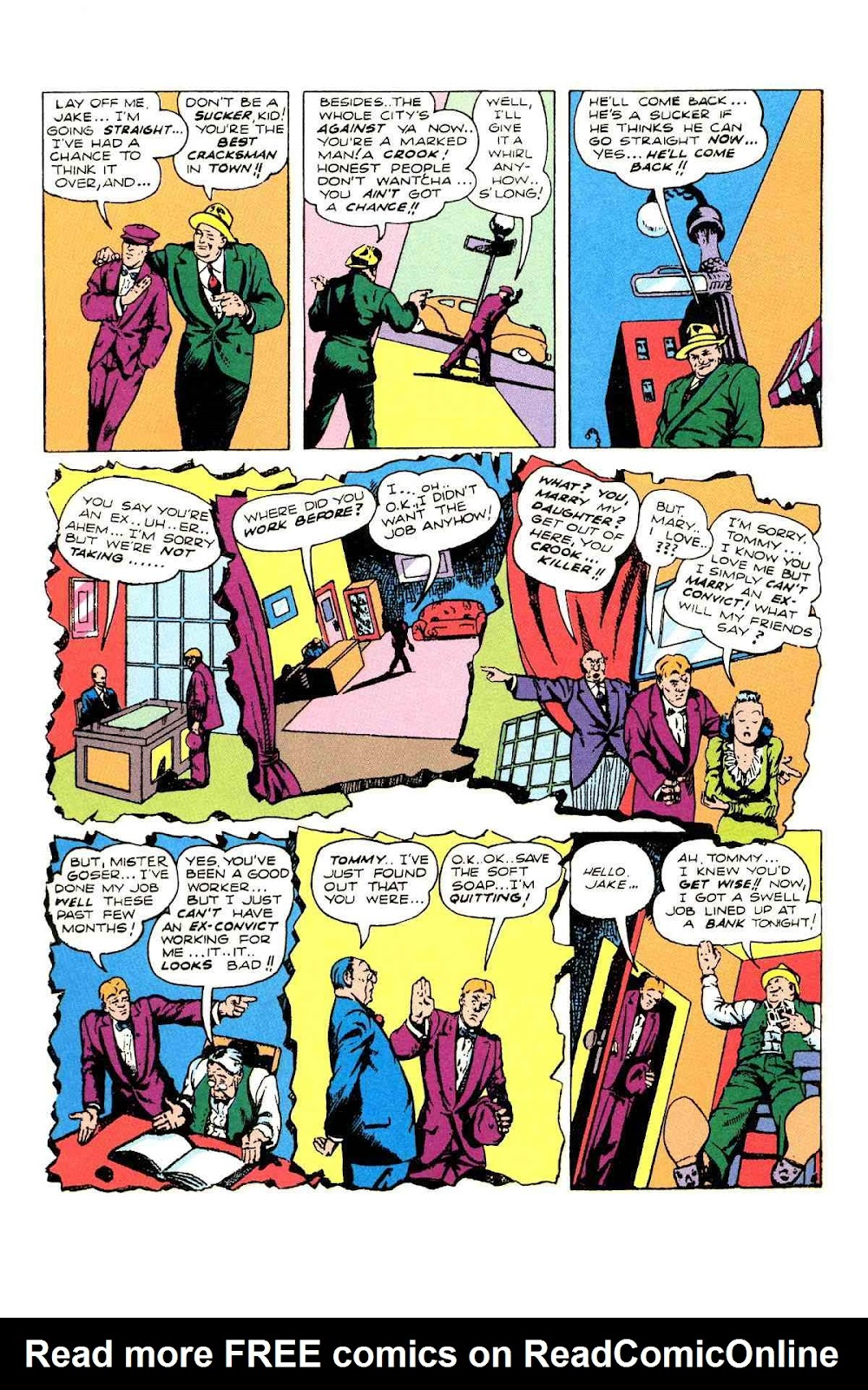 Read online Will Eisner's The Spirit Archives comic -  Issue # TPB 2 (Part 2) - 64