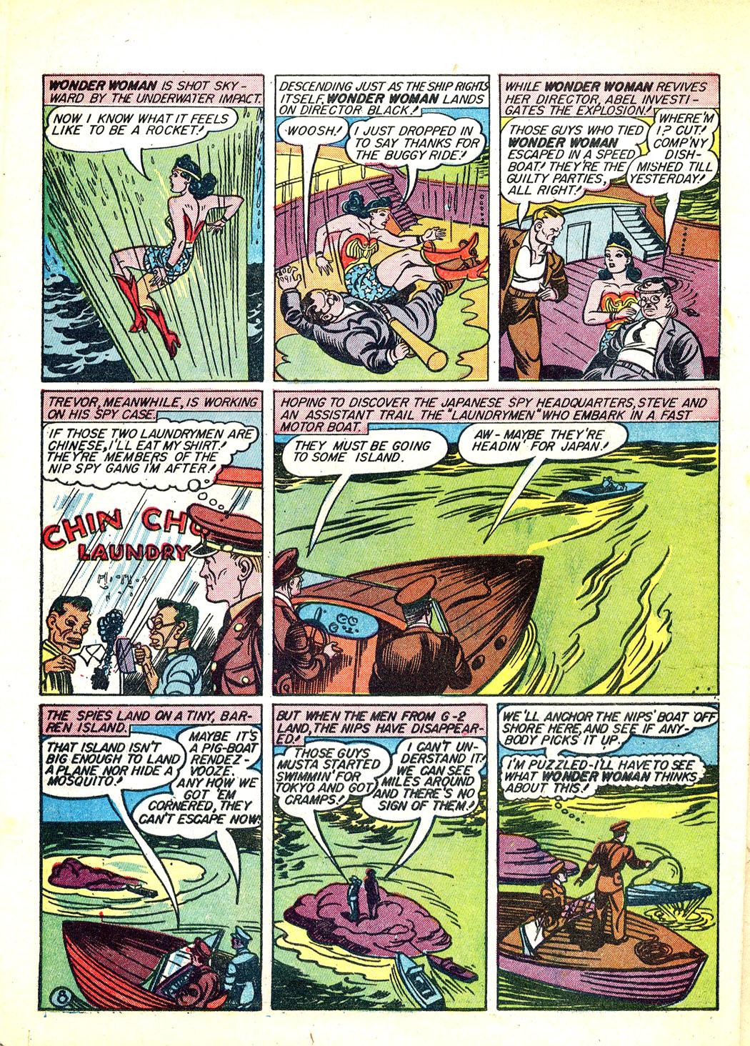 Read online Sensation (Mystery) Comics comic -  Issue #12 - 10