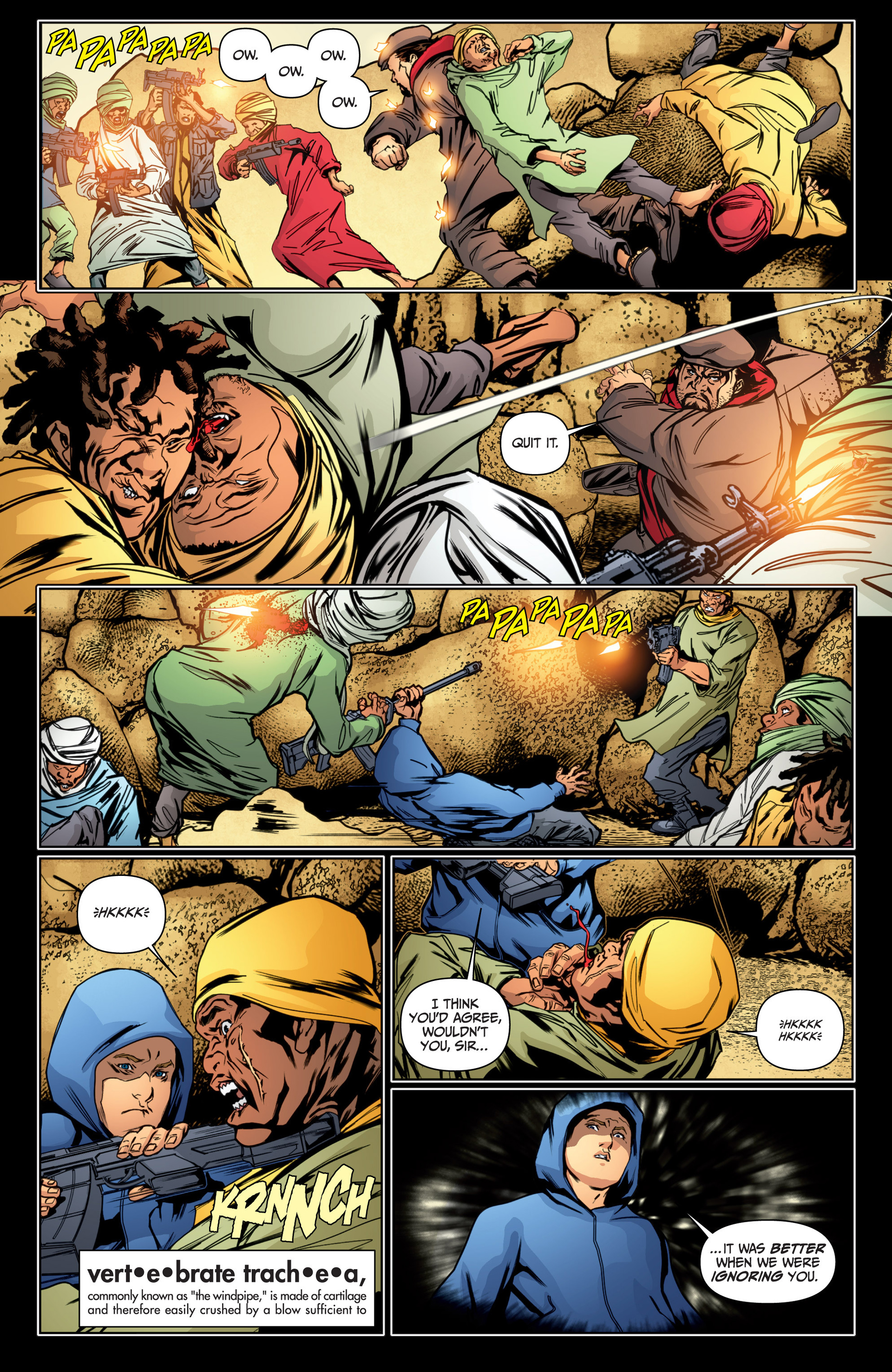 Read online Archer and Armstrong comic -  Issue #16 - 16