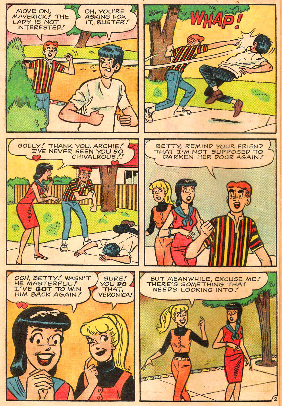 Read online Archie's Girls Betty and Veronica comic -  Issue #116 - 4
