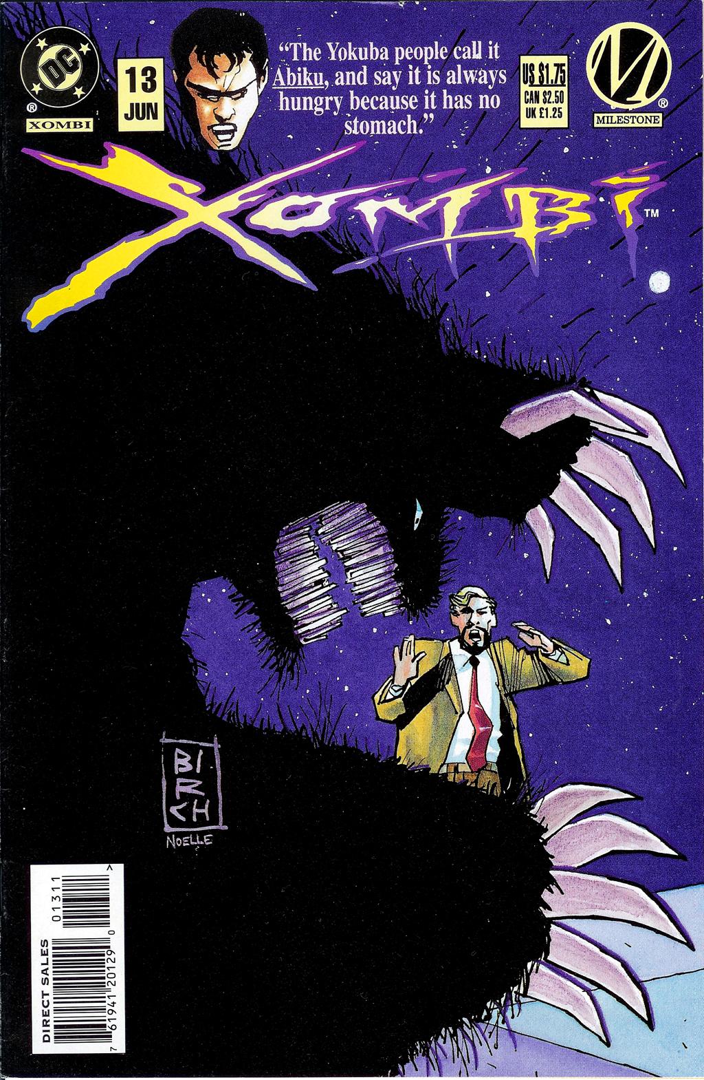 Xombi (1994) 13 Page 1