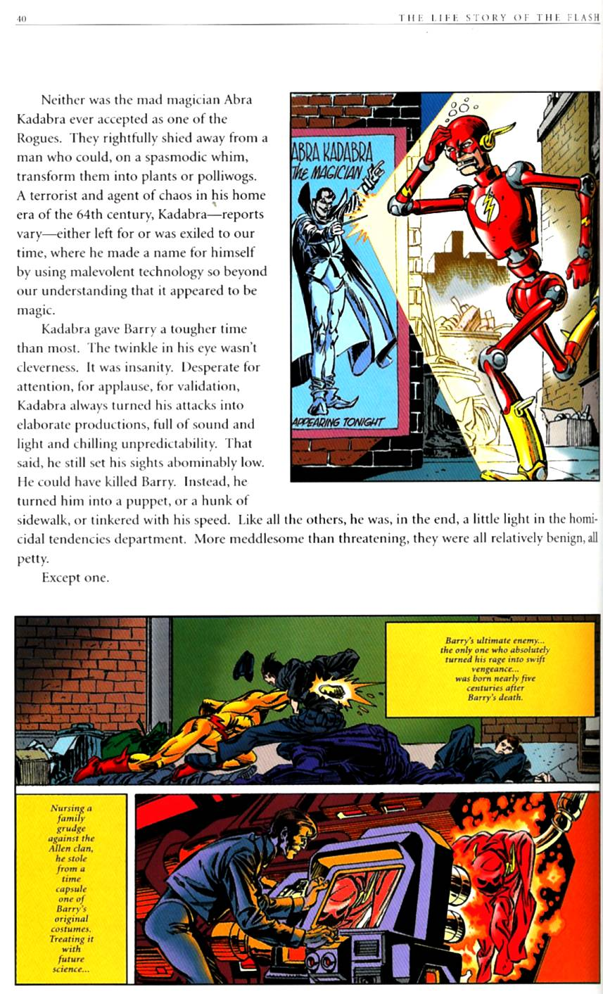 Read online The Life Story of the Flash comic -  Issue # Full - 42