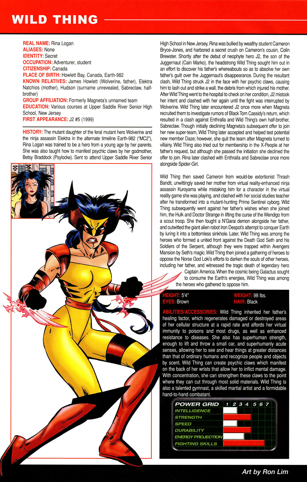 Read online All-New Official Handbook of the Marvel Universe A to Z comic -  Issue #12 - 36
