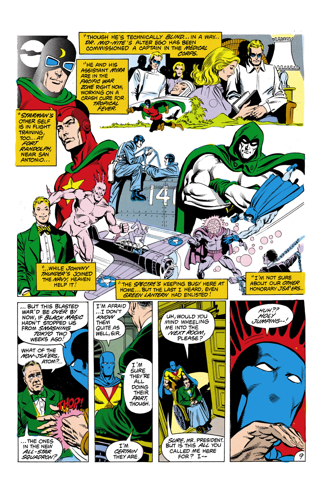 Read online All-Star Squadron comic -  Issue #7 - 10