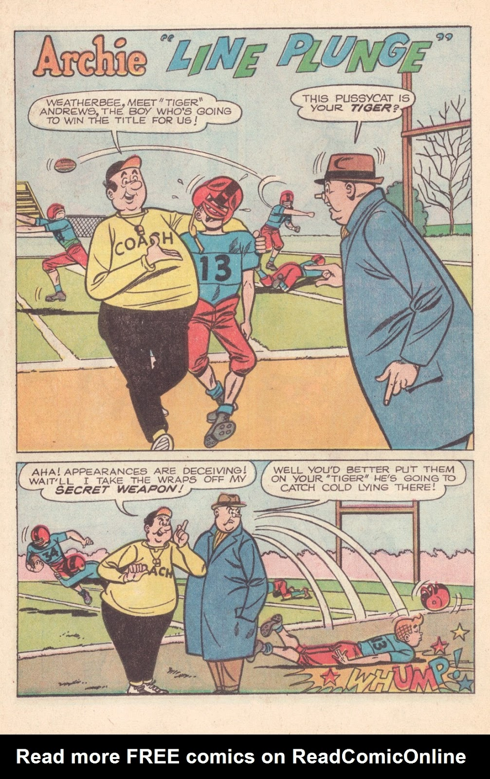 Read online Archie (1960) comic -  Issue #163 - 13