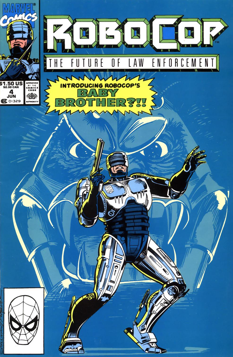 Read online Robocop (1990) comic -  Issue #4 - 1