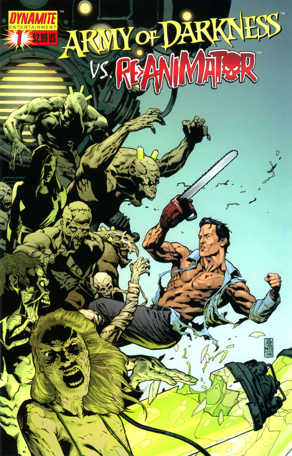 Army of Darkness vs. Re-Animator Issue #1 #1 - English 1