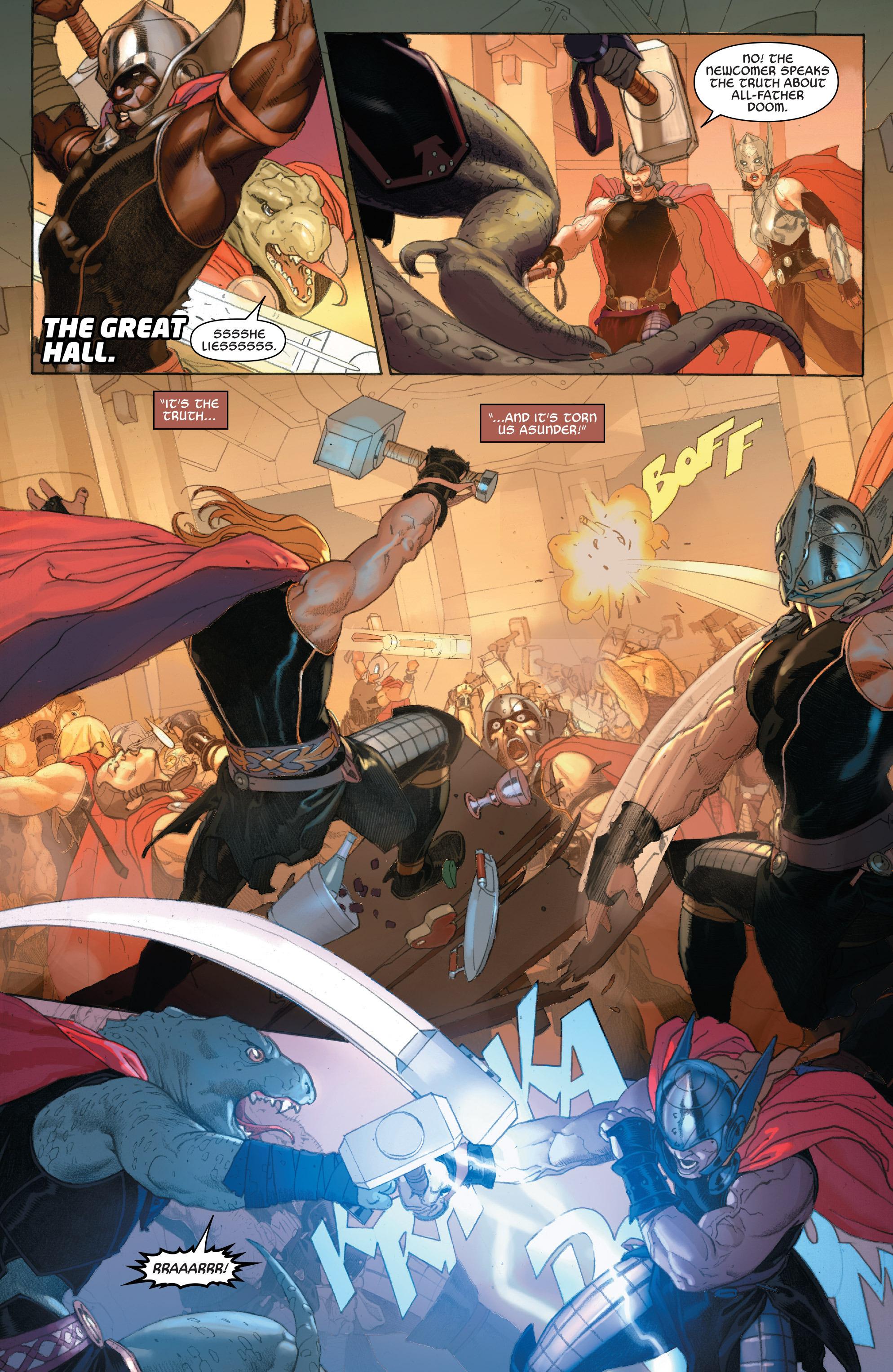 Read online Secret Wars comic -  Issue #7 - 12