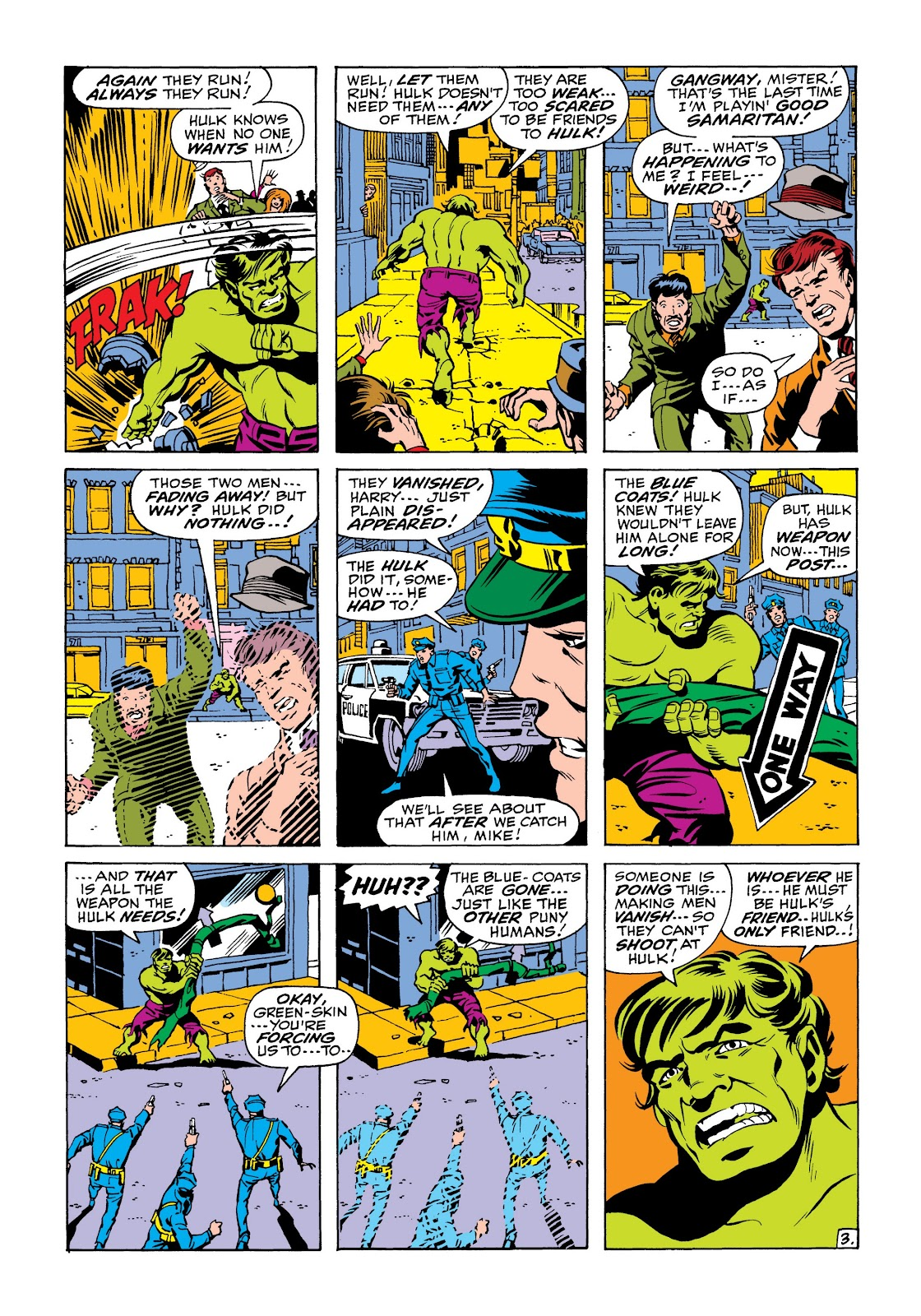 Read online Marvel Masterworks: The Incredible Hulk comic -  Issue # TPB 6 (Part 2) - 17